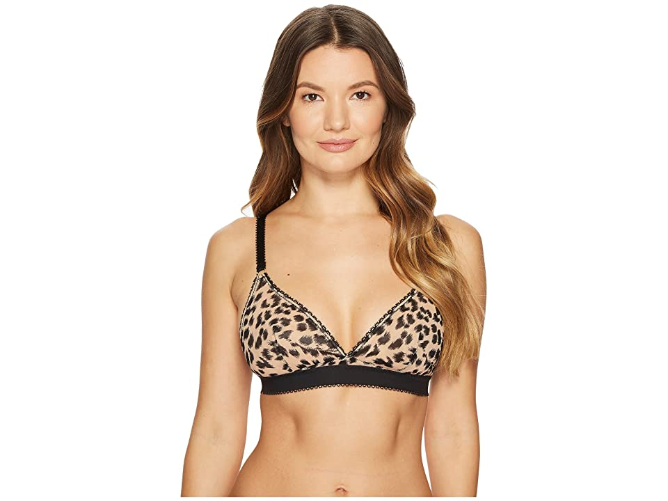 Stella McCartney Florence Fluttering Soft Cup S21-285 (Flesh/Black Leopard Print) Women