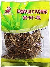 金针菜 Chinese Cuisine Dried Citron Day Lily flowers 5 oz (1 Pack)
