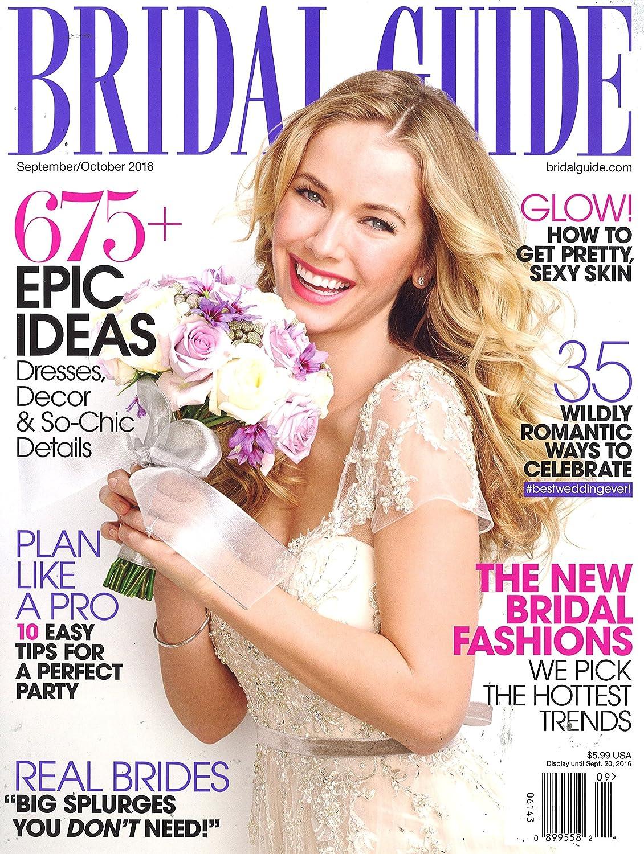 Bridal Guide Amazon Com Magazines