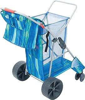 Rio Brands Deluxe Wonder Wheeler Wide, Blue Print