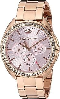 Juicy Couture Women's 'Capri' Quartz Gold Quartz Watch(Model: 1901480)
