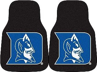 FANMATS NCAA Duke University Blue Devils Nylon Face Carpet Car Mat