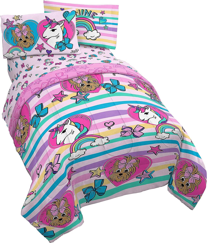 Jay Franco Max 83% OFF Nickelodeon JoJo Siwa Unicorn Piece Twin Bed In stock 4 Shine
