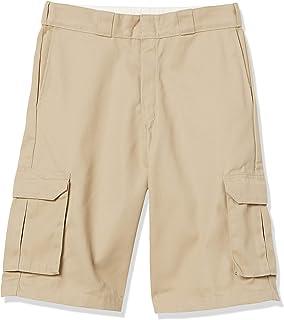 Men's 13 Inch Loose Fit Twill Cargo Short
