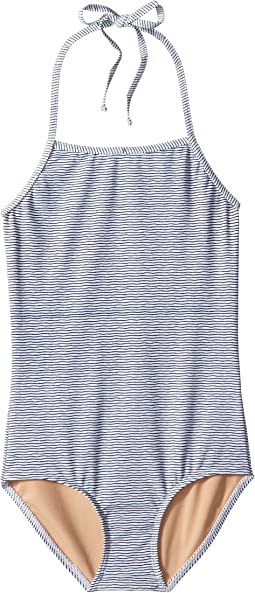 Toobydoo - Sweet Nautical Stripe One-Piece Swimsuit (Infant/Toddler/Little Kids/Big Kids)