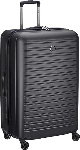 Delsey Paris SEGUR 2.0 Bagage cabine, 81 cm, 108,9 liters, Noir (Schwarz)