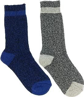Men's Wool Blend Boot Socks, Heavyweight (2Pr), One Size