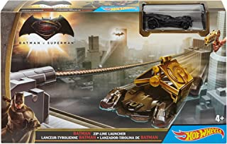 Hot Wheels Batman v Superman Dawn of Justice Batman Zipline Launcher Trackset