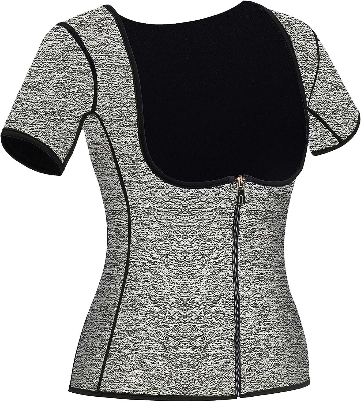 Mlxgoie Excellent Women Attention brand Neoprene Sauna Sweat Vest Weight for Waist Trainer