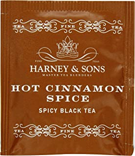 Harney & Sons Hot Cinnamon Spice Tea, 50 Tea Bags
