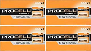 Duracell Procell 96 Battery Value Pack (Size-AAA) (4 Packs of 24)