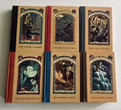 6 Books! A Series of Unfortunate Events Books 5-10 - 5) The Austere Academy 6) The Ersatz Elevator 7) The Vile Village 8) ...