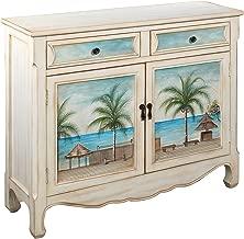 Treasure Trove Accents Key Largo Seaview Console Cupboard