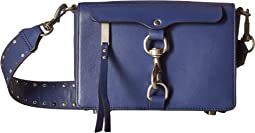 Rebecca Minkoff Large Mab Flap Crossbody w/ Flat Stud Gs