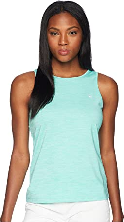 Heather Sport Peekaboo Tank Top