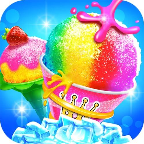 Rainbow Frozen Snowcone Maker - Kids Ice Dessert Chef