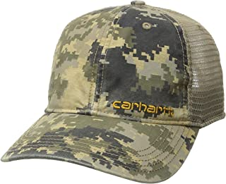 Carhartt Men's Brandt Camo Mesh Back Cap