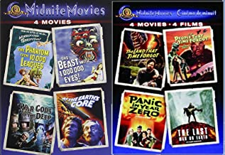 MGM Midnite Movies Sci-Fi Collection 8-Movie Bundle (Last Man on Earth / War Gods of the Deep / The Beast With 1,000,000 Eyes / Etc)