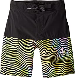 Volcom Kids - Vibes Elastic Boardshorts (Little Kids/Big Kids)