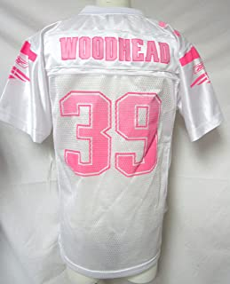 Reebok New England Patriots Youth Girls Size Large (14) Danny Woodhead #39 Jersey A1 1264 L