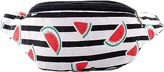 Watermelon Fanny Pack Rave Bag - Hippie Boho Festival Phanny Bum Packs - Watermelon Slices
