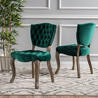 Best green tufted chair Reviews