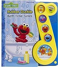 Sesame Street - Rubber Duckie Bath Time Tunes Sound Book - PI Kids