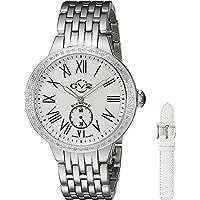 GV2 by Gevril Astor Womens Diamond Swiss Quartz Stainless Steel Bracelet Watch (Model: 9100)