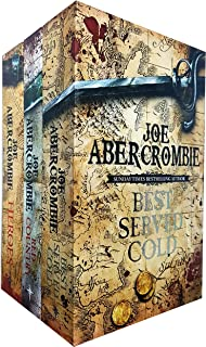 The Great Leveller Collection 3 Books Box Set by Joe Abercrombie (Best Served Cold, The Heroes and Red Country) (First Law...
