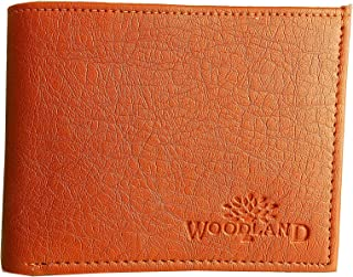 Woodland. Leather Formal Regular Men's Wallet (Brown)