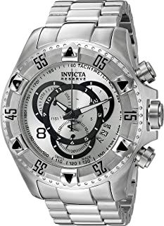 Invicta Mens 5525 Reserve Collection Chronograph Touring Edition Stainless Steel Watch