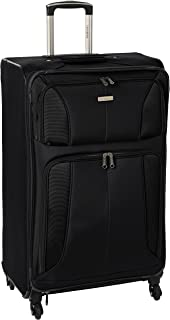 Samsonite Aspire Xlite Softside Expandable Luggage with Spinner Wheels, Black, Checked-Large 29-Inch
