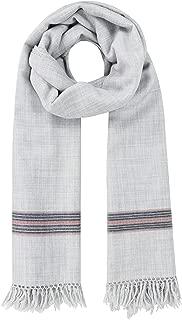 likemary Mens Scarf Merino Wool Oversize Muffler & Travel Blanket Wrap Ethical Gift Mansi 100 x 200cm