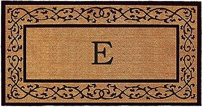 """Calloway Mills AZ120073672E Augusta Monogram Doormat, 36"""" x 72"""", (Letter E)"""