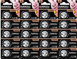 Duracell Chhota Power 2016 Lithium Coin Battery, 20 Pcs
