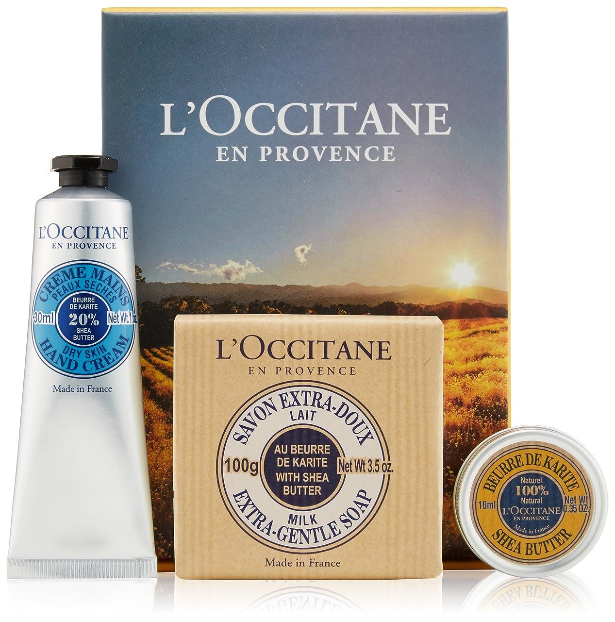カスケード高度なみぞれロクシタン(L'OCCITANE) シアバター&ハンドケアセット