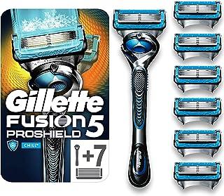 Gillette Proshield Chill Scheermes Voor Mannen + 7 Mesjes