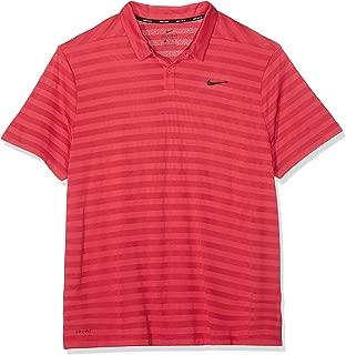 Men's Dry Stripe Golf Polo