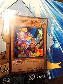 Yu-Gi-Oh! - Aquaactress Arowana (DRL2-EN041) - Dragons of Legend 2 - 1st Edition - Super Rare by Yu-Gi-Oh!