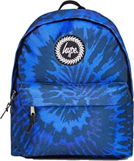 Blue Tie Dye, Mochila Unisex adulto, Blue, One Size