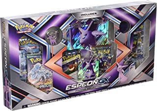 Pokemon TCG: Sun & Moon Guardians Rising Espeon Premium GX Box Featuring A Collector's Pin and Coin