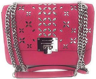 42009f166a4f Michael Kors Tina Flora leather Crossbody Shoulder Bag