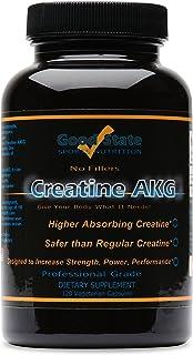 Good State Creatine XL (Creatine Alpha-Ketoglutarate) (650mg per capsule - 120 veggie capsules total)