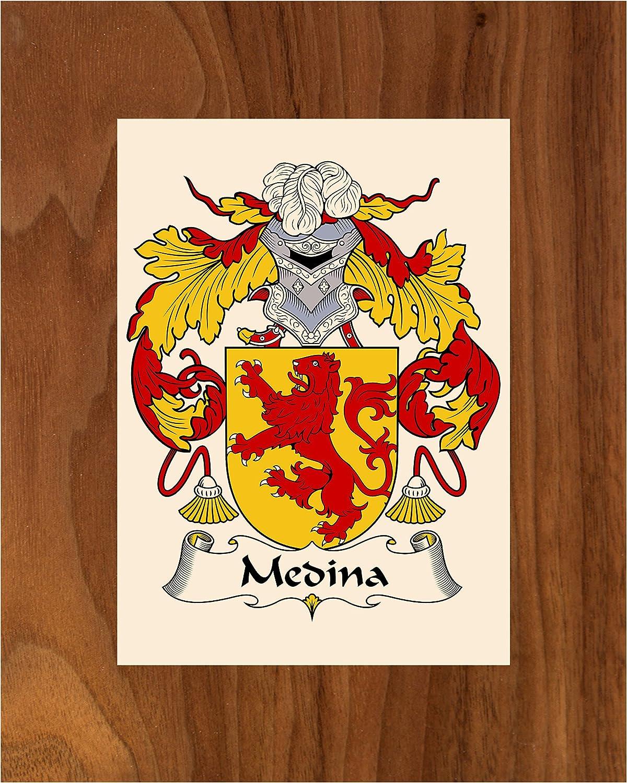 Carpe Diem Choice Designs Medina Coat 2021 8X10 Crest Arms Family of