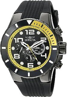 Invicta 18741 Watch Pro Diver Analog Display Swiss Quartz, Black