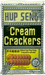 HUP SENG Cream Cracker, 428g