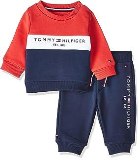 Tommy Hilfiger Baby Boys Colourblock Set Onesie
