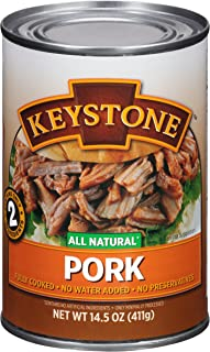 Keystone Meats All Natural Canned Pork, 14.5 Ounce
