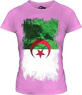 7dbb843c25cc26 Candymix Algérie Drapeau Grunge T-Shirt Femme