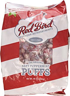 Red Bird Southern Refresh – Mints Soft Peppermint Puffs, 46 oz bag